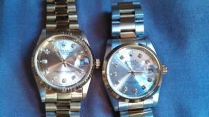 susppect courterfeit watches